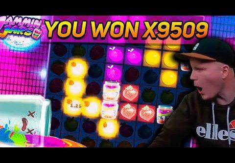 SlotRoom247 Record win x9500 on Jammin Jars slot – TOP 5 mega wins in casino online
