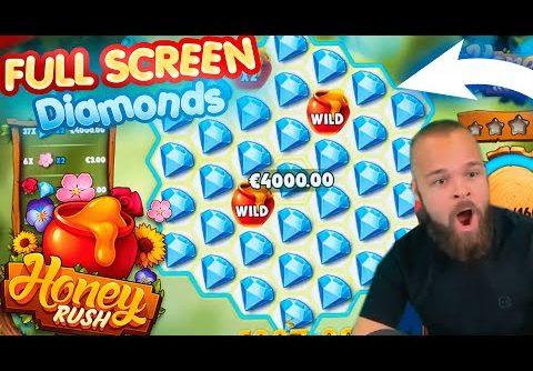 ClassyBeef Mega Win Full screen on Honey Rush slot – TOP 5 Biggest wins of the week