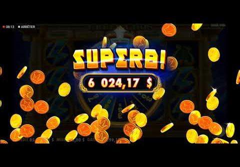 Super mage big win ( Greek Gods) 29.550.00$  57 spine