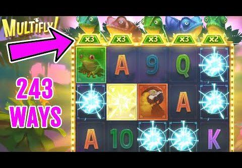 👑 Multifly Big Win Free Spins Bonus 💰 A Slot By Yggdrasil.