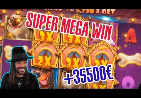SUPER MEGA WIN! Streamer win 35.000 € in Casino Slots! BIGGEST WINS OF THE WEEK! #8