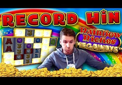 MUST SEE!!! RECORD WIN on Rainbow Riches Megaways Slot – £10 Bet!