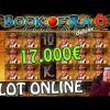 SLOT ONLINE – Torna la BOTTA alla BOOK OF RA 6! 📕🤠 (Vincita 17.000€)