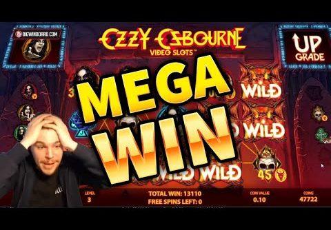 MEGA WIN!! 900X From Ozzy Osbourne Slot – INSANE LAST SPIN!