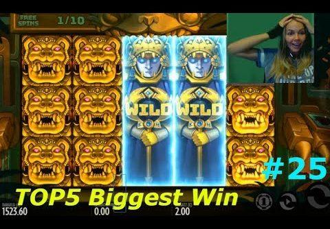 TOP5 Biggest Wins   TheBestMoments #25  Super Mega Win!