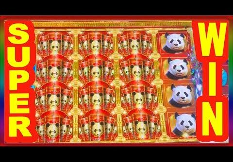 **SUPER BIG WIN **DOUBLE HAPPINESS PANDA ** SLOT LOVER **