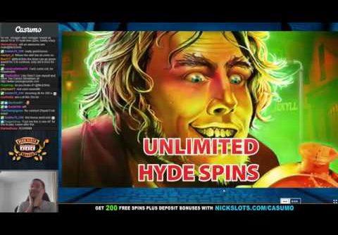 BIG WIN on Dr. Jekyll Goes Wild Slot – BIG BET