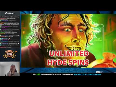 BIG WIN on Dr. Jekyll Goes Wild Slot – BIG BET