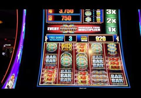**Big Win**On Quick Hits X Rising** slot machine bonus**