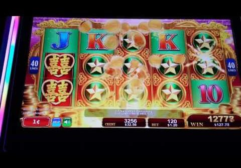 Big win, Huge win. Dragon's Law Twin Fever slot machine. Amazing. Almost 300x.
