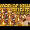 SWORDS OF KHANS DELIVERS ? BIG WIN ON NEW THUNDERKICK SLOT