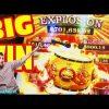 DANCING DRUMS EXPLOSION slot machine GOLD DRUMS BONUS and MEGA WIN on The Walking Dead 2 slot game