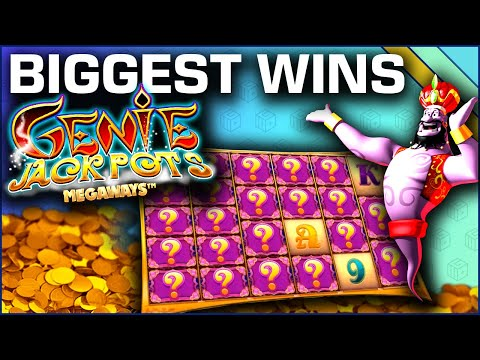 Top 10 Slot Wins on Genie Jackpots Megaways