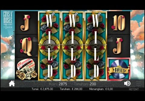 Best Game Slot GUNS N' ROSES Mega Win