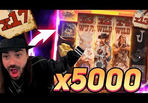 Streamer Record win 25.000€ on Deadwood slot – Top 5 Biggest Wins of week