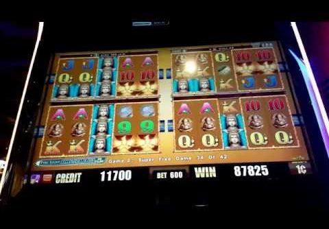 Wonder 4 Super Free Game Max Bet!  SUPER BIG WIN!!!!!! Perfect Ending Again!