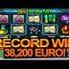 EUR 80,000 RECORD BIG WIN in Mad Scientist slot online!