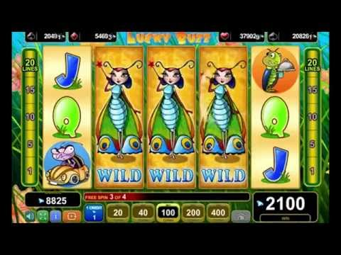 LUCKY BUZZ +MEGA WIN!!! +BONUS GAME! +FREE SPINS! online free slot SLOTSCOCKTAIL egt