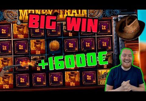 RECORD WIN! Streamer win x3000 on Money Train Slot! BIGGEST WINS OF THE WEEK! #15