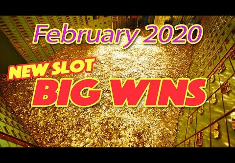 Biggest Slot Wins! ~ February 2020. A compilation of our Big Wins playing New Slots!