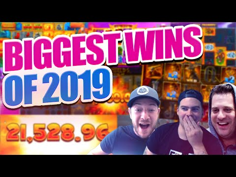 OUR TOP 10 BIGGEST ONLINE SLOTS WINS OF 2019!