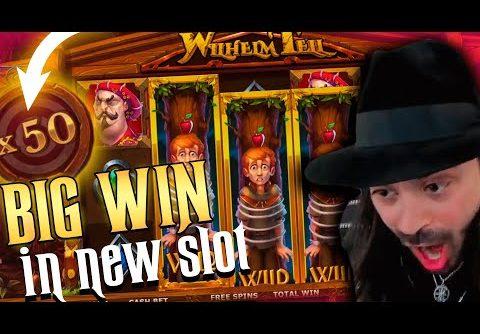 ROSHTEIN Big Win  on new slot Wilhelm Tell – TOP 5 Mega wins of the week