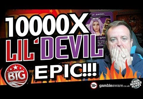 LIL DEVIL SLOT RECORD WIN !!! Over 10000 x