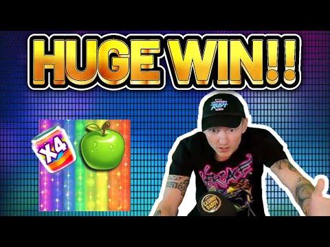 HUGE WIN! Jammin Jars BIG WIN – Online Slots from Casinodaddys live stream
