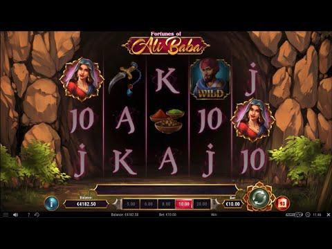 Fortunes Of Ali Baba Bonus Feature (PlayNGo)(MEGA WIN)
