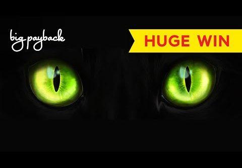 INCREDIBLE RETRIGGER BONUS! Cat's Eye Slot – HUGE WIN!