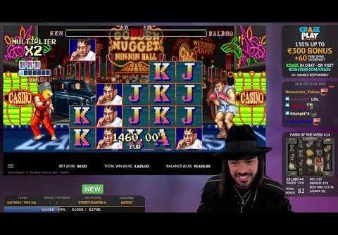 Record Win – New Slot Street Fighter 2 (1161X)