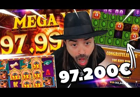 ROSHTEIN Record win 100.000 € on Dragon Fall slot – Top 5 Best Wins of Stream