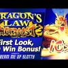 Dragon's Law Hot Boost Slot – Mega Big Win, New Version with Multipliers, First Look!