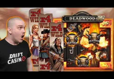 MEGA BIG WIN ON DEADWOOD (Nolimit City)