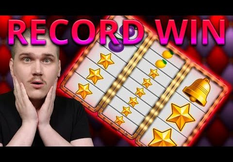 RECORD WIN ON JOKER MEGAWAYS (Games Inc) SUPER MEGA BIG WIN