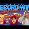 RECORD WIN! Street Fighter II BIG WIN – NEW CASINO SLOT FROM NETENT
