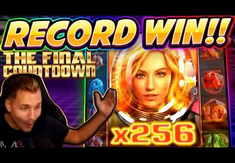 MEGA WIN!!! Final Countdown BIG WIN – HUGE WIN from CasinoDaddy Live Stream