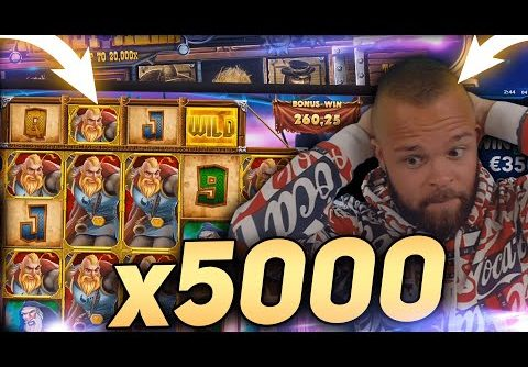 ClassyBeef Record Win 20.000€ on Viking unleashed slot – TOP 5 Biggest wins of the week