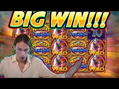 BIG WIN!! Hercules and Pegasus BIG WIN – Slot from Pragmatic – Casino Game from Casinodaddy