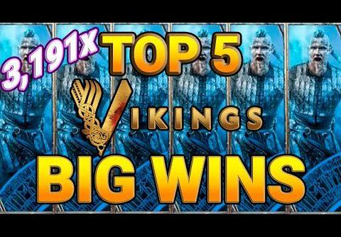 🤩Crazy record win 3919x! Big wins Vikings Slot 🔴ONLINECASINOPOLICE