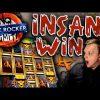 MASSIVE WIN on Punkrocker Slot Bonus Buy Feature!!