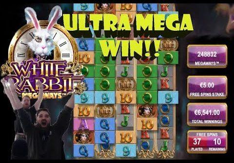 WHITE RABBIT ULTRA MEGA BIG WIN!!!!!