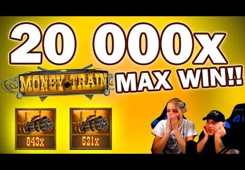MONEY TRAIN 20 000X, BIGGEST WIN EVER ON THIS SLOT??!
