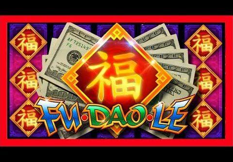 FIRST SPIN MASSIVE WIN! RECORD WIN For SDGuy on Fu Dao Le Slot Machine Bonus!