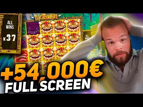 Streamer Record win 54.000€ on Tiki Tumble slot – TOP 5 Mega wins of the week