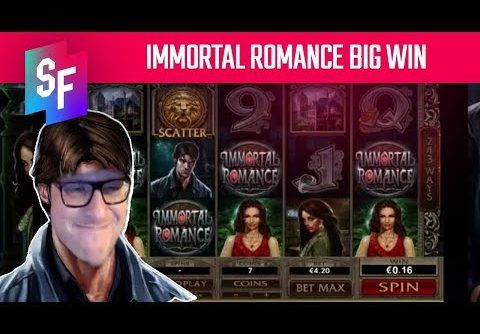Immortal Romance Slot Big Win For Spin Ninja