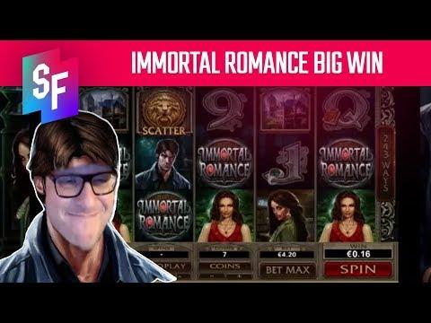 Immortal Romance Slot Big Win For Spin Ninja