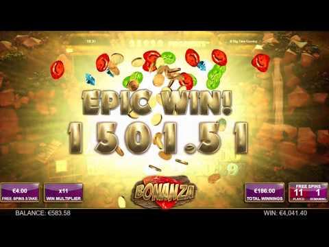 Bonanza Slot By Big Time Gaming – x1057 Mega Win