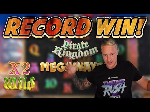 RECORD WIN!! Pirates Kingdom BIG WIN – Online Slots from Casinodaddys live stream