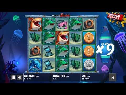 Razor Shark Slot – Free Spins MEGA WIN!